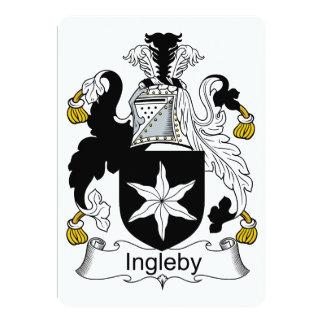 """Escudo de la familia de Ingleby Invitación 5"""" X 7"""""""