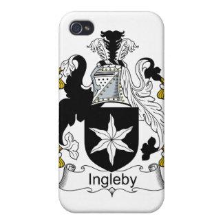 Escudo de la familia de Ingleby iPhone 4/4S Funda