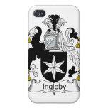 Escudo de la familia de Ingleby iPhone 4 Funda