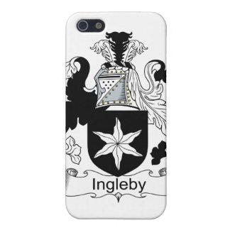 Escudo de la familia de Ingleby iPhone 5 Carcasas