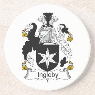 Escudo de la familia de Ingleby Posavaso Para Bebida