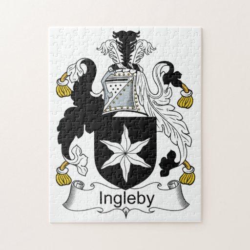 Escudo de la familia de Ingleby Puzzle Con Fotos
