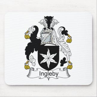 Escudo de la familia de Ingleby Alfombrilla De Ratones