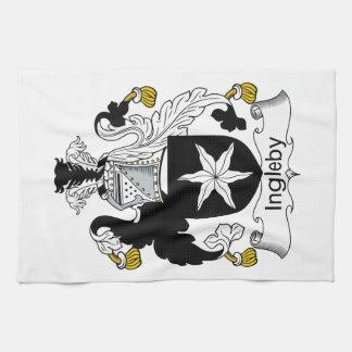 Escudo de la familia de Ingleby Toallas