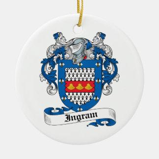 Escudo de la familia de Ingram Ornamente De Reyes