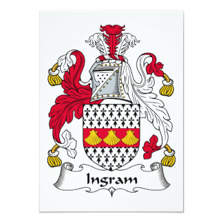 Escudo de la familia de Ingram Comunicado