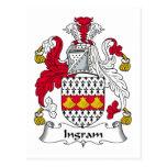 Escudo de la familia de Ingram Postal