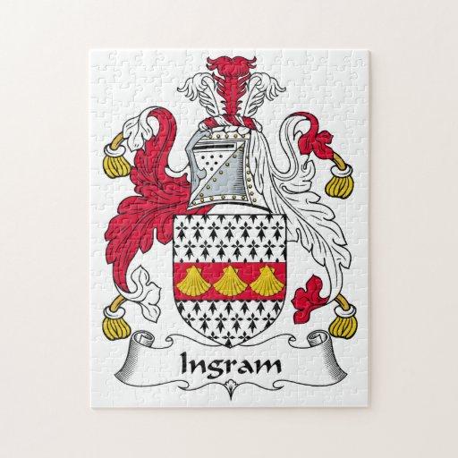 Escudo de la familia de Ingram Puzzles
