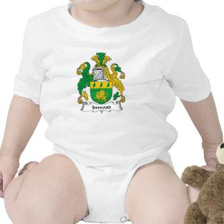Escudo de la familia de Inwood Trajes De Bebé
