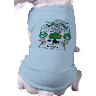 Escudo de la familia de Iraeta Camisas De Mascota