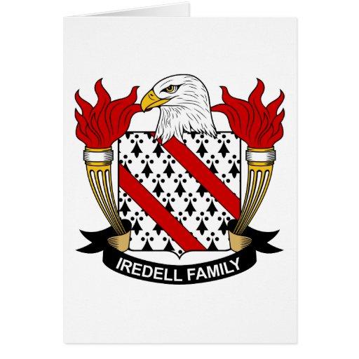 Escudo de la familia de Iredell Felicitaciones