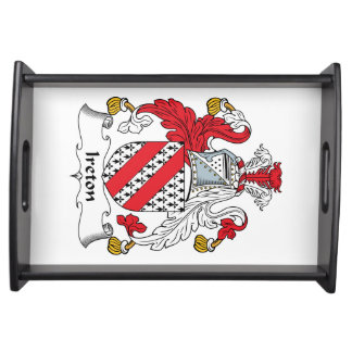 Escudo de la familia de Ireton Bandejas