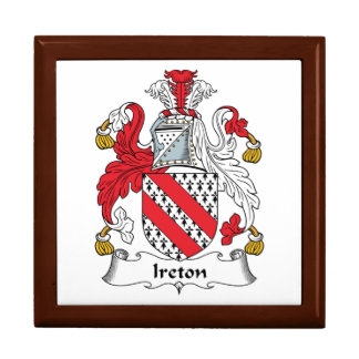 Escudo de la familia de Ireton Caja De Joyas