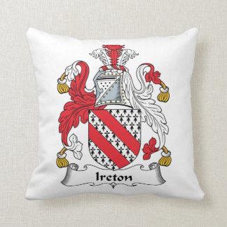 Escudo de la familia de Ireton Cojin