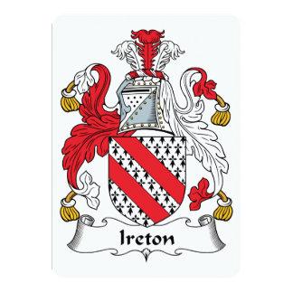 Escudo de la familia de Ireton Comunicados