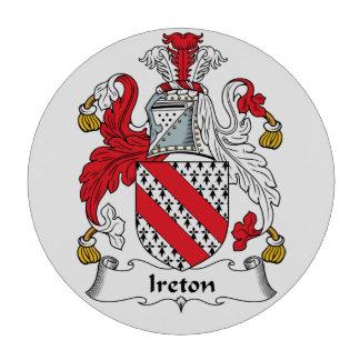 Escudo de la familia de Ireton Juego De Fichas De Póquer