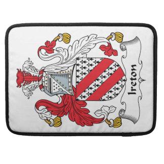Escudo de la familia de Ireton Funda Macbook Pro