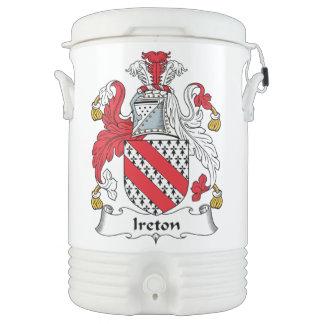 Escudo de la familia de Ireton Vaso Enfriador Igloo