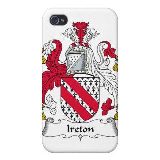 Escudo de la familia de Ireton iPhone 4/4S Carcasa