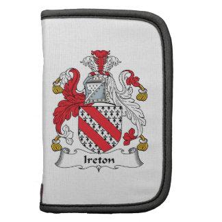 Escudo de la familia de Ireton Planificadores