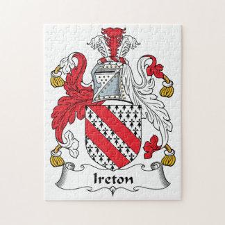 Escudo de la familia de Ireton Rompecabeza