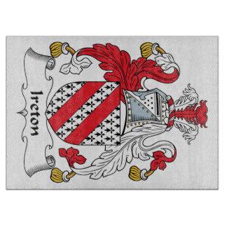 Escudo de la familia de Ireton Tablas Para Cortar