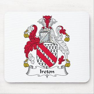 Escudo de la familia de Ireton Alfombrillas De Ratones