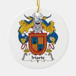 Escudo de la familia de Iriarte Adorno De Navidad