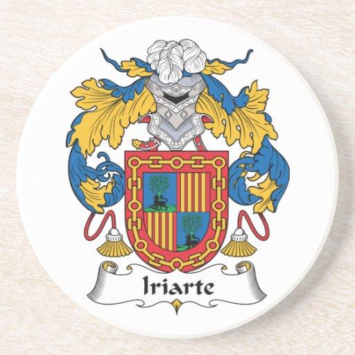 Escudo de la familia de Iriarte Posavasos Diseño
