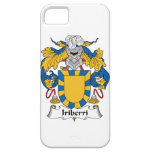 Escudo de la familia de Iriberri iPhone 5 Protectores