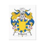 Escudo de la familia de Iriberri Impresiones En Lona