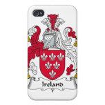 Escudo de la familia de Irlanda iPhone 4/4S Carcasa