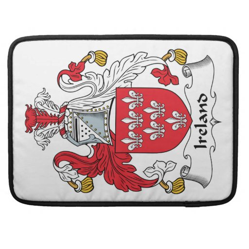 Escudo de la familia de Irlanda Funda Macbook Pro