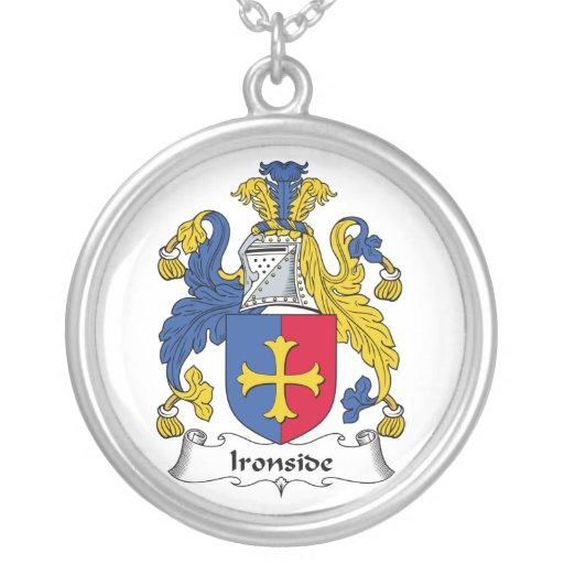 Escudo de la familia de Ironside Colgante Redondo