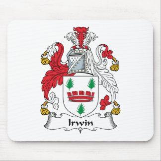 Escudo de la familia de Irwin Tapete De Ratón