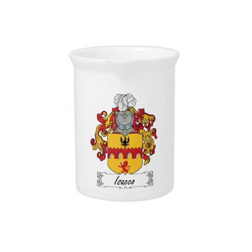 Escudo de la familia de Isacco Jarra