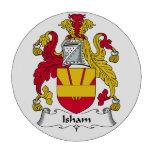 Escudo de la familia de Isham Juego De Fichas De Póquer
