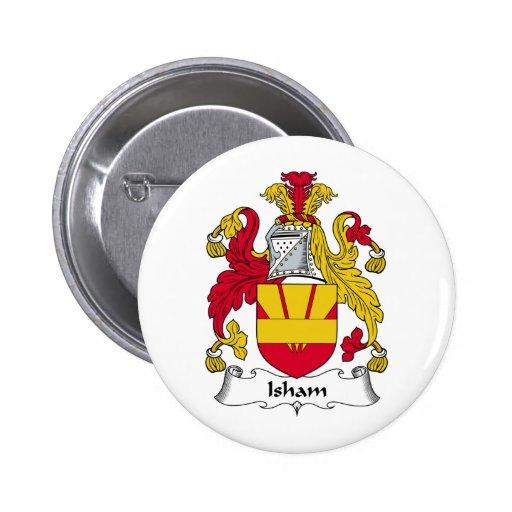 Escudo de la familia de Isham Pins