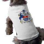 Escudo de la familia de Isherwood Ropa Perro
