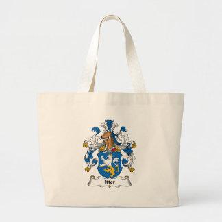 Escudo de la familia de Itter Bolsa Lienzo