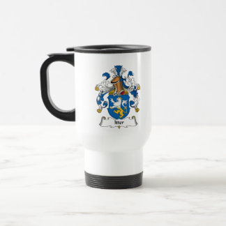 Escudo de la familia de Itter Tazas De Café