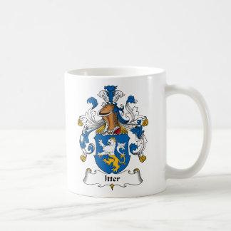 Escudo de la familia de Itter Taza De Café