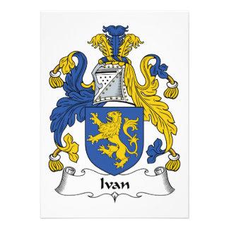 Escudo de la familia de Ivan Comunicados
