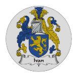 Escudo de la familia de Ivan Juego De Fichas De Póquer