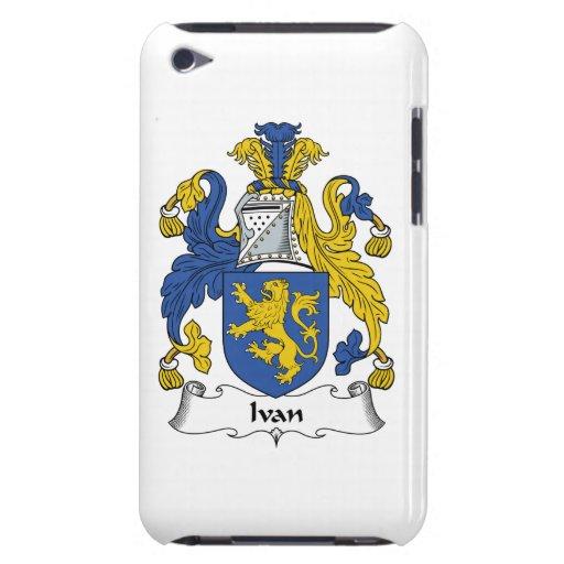 Escudo de la familia de Ivan Barely There iPod Coberturas
