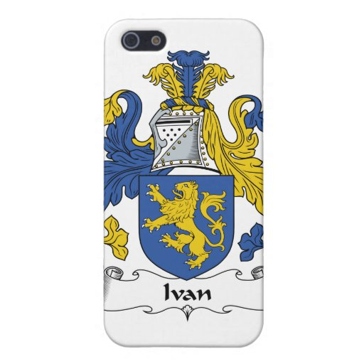 Escudo de la familia de Ivan iPhone 5 Carcasas