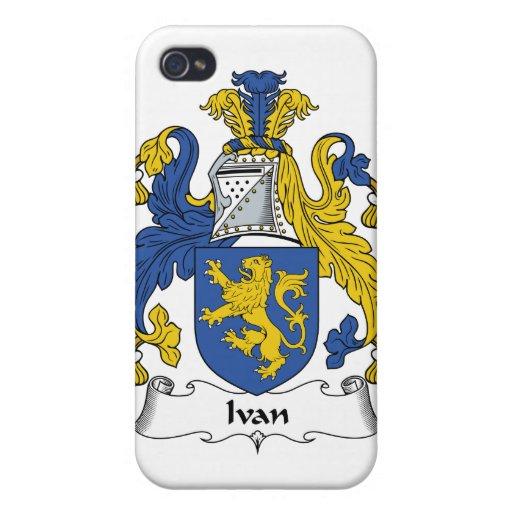 Escudo de la familia de Ivan iPhone 4 Fundas
