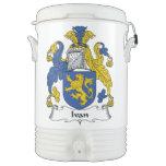 Escudo de la familia de Ivan Enfriador De Bebida Igloo