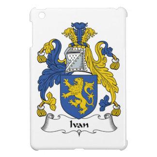 Escudo de la familia de Ivan iPad Mini Cárcasas