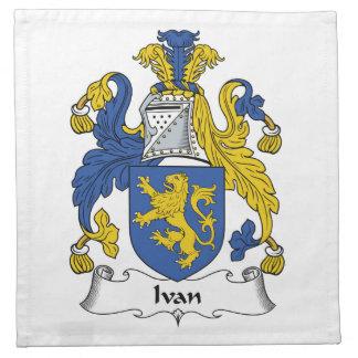 Escudo de la familia de Ivan Servilleta De Papel